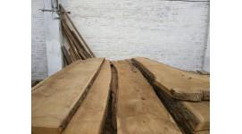 Доска дуб сухая необрезная толщина 30мм длина 3м 1сорт