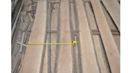 Доска ясень сухая необрезная толщина 30мм длина 3м высший сорт