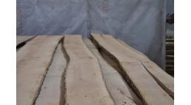 Доска ясень сухая необрезная толщина 30мм длина 3м 2-й сорт