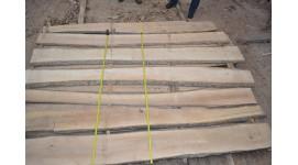 Доска дуб сухая необрезная толщина 30мм длинна 3м в/сорт