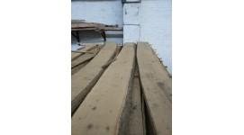 Доска ясень сухая необрезная толщина 50мм длина 3м 1-й сорт