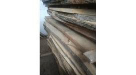 Доска ясень сухая необрезная толщина 50мм длина 3м 2-й сорт