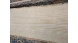 Доска ясень сухая необрезная толщина 50мм длина 3м высший сорт